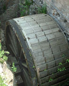 The Triphammer Water Wheel