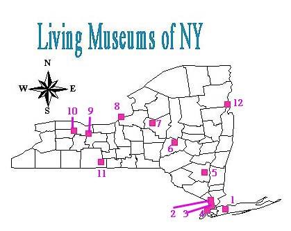 Living Museums Map